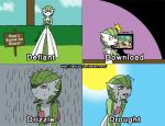 computer english_text female gardevoir harijizo nintendo pokémon rain red_eyes sweat text video_games wet   Rating: Safe  Score: 0  User: Juni221  Date: February 26, 2014