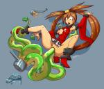 anal bare_shoulders breasts brown_hair china_dress chinese_clothes clothing dahs detached_sleeves double_penetration dress female guilty_gear hair hair_ornament hair_rings kuradoberi_jam long_hair nipples one_breast_out open_mouth penetration red_dress skirt spread_legs spreading tentacles torn_clothing torn_dress vaginal vaginal_penetration yellow_eyes  Rating: Explicit Score: 0 User: my_bad_english Date: September 03, 2015