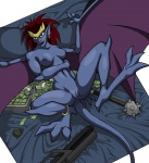 areola bed breasts demona disney ear_piercing explosives female gargoyle gargoyles grenade gun hair lying mace money morning_star_(weapon) navel nero nero_(artist) nipples nude on_back piercing pointy_ears presenting pussy ranged_weapon red_hair rifle smile solo spread_legs spreading weapon wings   Rating: Explicit  Score: 6  User: Robinebra  Date: September 06, 2012