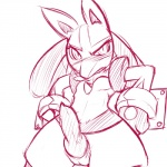 animal_genitalia bdsm erection looking_at_viewer lucario male nintendo nude penis plain_background pokémon solo superserperior video_games white_background   Rating: Explicit  Score: 5  User: islandboy198  Date: May 26, 2015