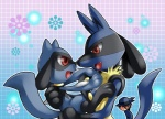 canine duo father father_and_son inumania lucario male mammal nintendo parent pokémon riley riolu son video_games  Rating: Safe Score: 10 User: Rad_Dudesman Date: December 26, 2015