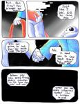 aftertale animated_skeleton blood bone clothed clothing comic dialogue english_text geno_sans_(aftertale)_(character) loverofpiggies male mammal not_furry sans_(undertale) scarf skeleton text undead undertale video_games wounded  Rating: Safe Score: 5 User: Valmar Date: April 25, 2016
