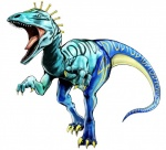 3d_(artwork) ambiguous_gender blue_body blue_eyes cgi claws deinonychus diego_brando digital_media_(artwork) dinosaur feral jojo's_bizarre_adventure markings official_art open_mouth sharp_teeth simple_background solo stand_(jjba) standing teeth theropod tongue tongue_out unknown_artist white_background  Rating: Safe Score: 4 User: Mutisija Date: January 17, 2016