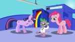 dragon earth_pony equine female feral friendship_is_magic fur g-man group half-life horn horse male mammal my_little_pony parody patolarax pink_fur pinkie_pie_(mlp) pony scalie spike_(mlp) twilight_sparkle_(mlp) unicorn video_games  Rating: Safe Score: 1 User: Princess_Celestia Date: June 05, 2011