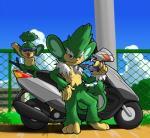 duo eyewear feral mammal monkey motor_scooter motorcycle nintendo pansage pokémon primate simisage sunglasses vehicle video_gamesRating: SafeScore: 2User: Rad_DudesmanDate: April 23, 2016