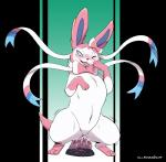barefoot blue_eyes blush bow canine cum cum_on_dildo cute dildo dildo_sitting drooling eeveelution female feral fur gillpanda hi_res hind_legs long_ears mammal masturbation nintendo nude one_eye_closed open_mouth penetration pokémon ribbons saliva sex_toy sharp_teeth smile solo standing sylveon teeth thick_thighs tongue tongue_out vaginal vaginal_masturbation vaginal_penetration video_gamesRating: ExplicitScore: 26User: ThisIsGospelDate: August 20, 2017