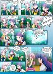 clothed clothing comic dialog english_text female fluttershy_(mlp) friendship_is_magic hair hug human humanized male mauroz multi-colored_hair my_little_pony spike_(mlp) text twilight_sparkle_(mlp)   Rating: Safe  Score: 4  User: darknessRising  Date: November 29, 2013