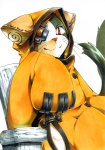 anthro blazblue cat eye_patch eyewear feline harusuke jubei looking_at_viewer male mammal plain_background solo video_games whiskers white_background  Rating: Safe Score: 26 User: Riversyde Date: October 17, 2010""