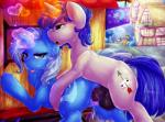 2015 <3 animal_genitalia anus balls blue_eyes blue_hair cutie_mark digital_media_(artwork) dimwitdog duo_focus equine fan_character female feral friendship_is_magic glowing group hair hi_res horn horsecock looking_at_viewer magic male male/female mammal my_little_pony open_mouth outside penetration penis public purple_eyes pussy sex snails_(mlp) snips_(mlp) trixie_(mlp) unicorn vaginal vaginal_penetration  Rating: Explicit Score: 6 User: lemongrab Date: November 18, 2015