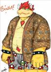 anthro bowser clothing cosmic51moon hair horn japanese_clothing kimono koopa male mario_bros musclegut muscular nintendo nude scalie simple_background slightly_chubby smile solo spikes standing underwear video_gamesRating: SafeScore: 2User: Cosmic51MoonDate: August 20, 2017