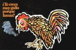 1973 avian beak bird chicken cigarette feathered_wings feathers hi_res male poster propaganda smoke smoking solo spanish_text text u.s._public_health_service unknown_artist wings  Rating: Safe Score: -2 User: Lance_Armstrong Date: May 20, 2015