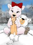 anthro barefoot bear cub duo fellatio jk mammal oral penis polar_bear sex young  Rating: Explicit Score: 24 User: charmandrigo Date: February 09, 2016