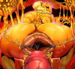 ambiguous_gender antennae anus arthropod bee big_butt breasts butt female gaping gaping_anus honey humanoid_penis hyper hyper_anus insect justmegabenewell macro male penis puffy_anus size_difference steam vein veiny_penis   Rating: Explicit  Score: 17  User: Monte  Date: May 14, 2015