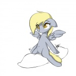 blonde_hair cloud derpy_hooves_(mlp) equine female friendship_is_magic fur grey_fur grinding hair hooves mammal masturbation my_little_pony pegasus pillow pillow_ride pussy randomdrawpony simple_background solo white_background wings  Rating: Explicit Score: 11 User: EmoCat Date: January 28, 2015