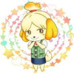 animal_crossing anthro black_nose canine clothing dog dress female hair hair_ornament isabelle_(animal_crossing) low_res mammal nintendo short_hair solo unknown_artist video_games  Rating: Safe Score: 0 User: Cαnε751 Date: November 09, 2015
