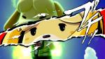 16:9 2019 animal_crossing anthro atlus black_eyes canid canine canis close-up clothed clothing crossover domestic_dog eyes_closed female floppy_ears fur hi_res isabelle_(animal_crossing) japanese_text looking_at_viewer mammal mediamaster_127 megami_tensei megami_tensei_persona nintendo red_background shih_tzu shirt simple_background solo standing super_smash_bros. super_smash_bros._ultimate text topwear toy_dog video_gamesRating: SafeScore: 1User: JapesDate: August 17, 2019