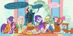 2012 absurd_res applejack_(mlp) changeling crossover daphne_blake dialogue docwario equine female feral fluttershy_(mlp) fred_jones friendship_is_magic group hair hi_res horn horse imposter mammal mask multicolored_hair my_little_pony norville_rogers pegasus pinkie_pie_(mlp) pony queen_chrysalis_(mlp) rainbow_dash_(mlp) rainbow_hair rarity_(mlp) rope scooby-doo scooby-doo_(series) scrappy-doo text twilight_sparkle_(mlp) unicorn velma_dinkley wings zoinks!   Rating: Safe  Score: 16  User: Kholchev  Date: June 04, 2012