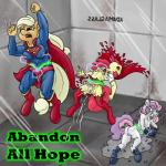 abs anthro anthrofied apple_bloom_(mlp) applejack_(mlp) blonde_hair boots breasts camel_toe clenched_teeth clothing cosplay crossover electricity electrocution equine footwear friendship_is_magic genital_torture group hair horse mammal mare_do_well multicolored_hair muscles my_little_pony nipples nude open_mouth orgasm pony pussy pussy_ejaculation pussy_juice red_hair rubber small_breasts smudge_proof superfilly supergirl superman supermare sweetie_bell teeth text torn_clothing  Rating: Explicit Score: -2 User: Smudge_Proof Date: August 20, 2015