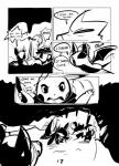2014 black_and_white blush cave comic dark english_text feral monochrome mudkip nintendo pikachu pokémon poochyena scarf text tom_smith torch video_games zubat   Rating: Safe  Score: 0  User: Lizardite  Date: April 22, 2014