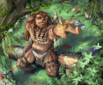anthro birds bovine brown_fur brown_hair cattle clothed clothing corvuspointer facial_piercing fur hair half-dressed jewelry loincloth male mammal muscles nature necklace nose_piercing nose_ring outside piercing tauren topless tribal video_games warcraft world_of_warcraft   Rating: Safe  Score: 6  User: Der_Traubenfuchs  Date: December 29, 2012