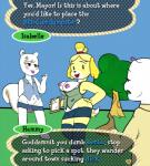 animal_crossing anthro breasts canine crossdressing dog female girly hammy isabelle_(animal_crossing) lipstick male mammal marshal_(animal_crossing) nintendo video_games  Rating: Explicit Score: 4 User: WhiteWhiskey Date: August 22, 2015