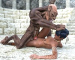 3d canine cgi digital_media_(artwork) duo erection female human humping interspecies male male/female mammal muscles penis rawdarkness sex were werewolf  Rating: Explicit Score: 2 User: furmann Date: June 25, 2013