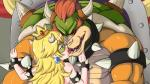 anthro bowser breasts censored collar female human kissing koopa male mammal mario_bros mask muscles nintendo peach penis scalie sharp_teeth size_difference spiked_bracelet spiked_collar teeth the_dark_mangaka tongue video_games   Rating: Questionable  Score: -10  User: The_Dark_Mangaka  Date: May 28, 2015