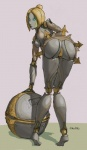 aka6 bent_over blonde_hair breasts female hair league_of_legends machine not_furry orianna orianna_reveck presenting robot robot_girl robot_joints solo video_games  Rating: Explicit Score: 4 User: my_bad_english Date: August 30, 2015