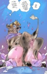 anus bovine cattle dialogue english_text female feral mamabliss mammal pussy solo teats text transformation udders   Rating: Explicit  Score: 8  User: mountainering  Date: February 17, 2013