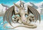 besonik conditional_dnp cum dragon female feral fur furred_dragon horn masturbation multi_nipple nether_dragon nipples pawpads paws pussy solo_focus whiskers wings wyvern