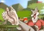 2015 4_toes anthro avian barefoot beverage big_breasts big_feet bird blush breasts canine coffee female food foot_focus hi_res humanoid_feet ipad laugh mammal sitting solo tickling toes wolf zp92  Rating: Safe Score: 4 User: slyroon Date: December 19, 2015