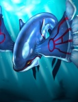 ambiguous_gender kyogre legendary_pokémon nintendo pokémon solo underwater uziga_waita video_games water  Rating: Safe Score: 1 User: VulpesFoxnik Date: August 08, 2009