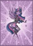 2013 anthro anthrofied breasts butt clothed clothing cutie_mark digital_media_(artwork) equine friendship_is_magic hair horn legwear looking_at_viewer looking_back mammal my_little_pony pink_hair pose purple_eyes purple_hair purple_skin raised_leg raptor007 side_boob solo spacesuit twilight_sparkle_(mlp) winged_unicorn wings   Rating: Safe  Score: 2  User: GameManiac  Date: March 19, 2015