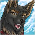 brown_eyes canine cloudscape collar dog feral german_shepherd headshot_portrait looking_at_viewer low_res male mammal portrait sky solo streetdog wielder wolfRating: SafeScore: 1User: StreetDate: August 26, 2016
