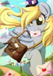 2015 <3 bag cute derpy_hooves_(mlp) equine female feral food friendship_is_magic letter mail mammal muffin my_little_pony pegasus rainbowscreen solo wings   Rating: Safe  Score: 22  User: Robinebra  Date: January 29, 2015