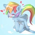 <3 <3_eyes anthro anthrofied areola blue_fur blush breasts clothing cutie_mark equine feathered_wings feathers female friendship_is_magic fur hair half-closed_eyes kneeling mammal multicolored_hair mustang-blaze my_little_pony nipples open_mouth panties panties_down pegasus pussy_juice rainbow_dash_(mlp) rainbow_hair small_breasts smile solo tongue tongue_out underwear undressing wings young  Rating: Explicit Score: 23 User: EmoCat Date: June 15, 2015