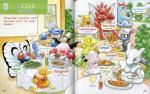 ambiguous_gender apron blastoise bread burger butterfree clothing croconaw curry english_text feral food hi_res hot_dog insect_wings japanese_text legendary_pokémon mewtwo mr._mime mudkip nintendo official_art omelet onigiri pasta pikachu pizza pokémon pokémon_(species) salad scizor sneasel snubbull spaghetti text torchic traditional_media_(artwork) translation_request treecko video_games wings