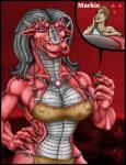 2005 <3 anthro bone bra breasts claws close-up clothed clothing dragon drooling duo english_text female grey_hair hair human imminent_vore jewelry licking licking_lips loincloth long_hair long_tongue male mammal markie markie_(character) muscles muscular_female red_eyes red_scales saliva scalie size_difference skimpy slit_pupils smile teeth text tongue tongue_out underwear vore white_scales   Rating: Questionable  Score: -1  User: GameManiac  Date: April 20, 2015