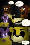 00kaori00 animatronic bear bonnie_(fnaf) bow_tie comic five_nights_at_freddy's freddy_(fnaf) golden_freddy_(fnaf) hat lagomorph machine male mammal mechanical rabbit robot top_hat   Rating: Safe  Score: 0  User: Vallizo  Date: March 31, 2015