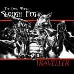 album_cover anthro canid canine canis clothing cover domestic_dog gun heavy_metal hi_res male mammal metal ranged_weapon rocket_launcher solo space the_lord_weird_slough_feg traveller unknown_artist vargr weapon