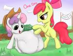 animated apple_bloom_(mlp) augustbebel duo earth_pony equine female friendship_is_magic horn horse mammal my_little_pony pony sweetie_belle_(mlp) unicorn vore  Rating: Questionable Score: 0 User: Mcnair32 Date: October 05, 2015