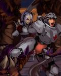 abdominal_bulge aka6 arm_grab armor bent_over blonde_hair blue_eyes corruption crotchless dickgirl female forced from_behind grey_hair hair headgear intersex intersex/female medic_(starcraft) not_furry nova_(starcraft) one_eye_closed open_mouth ponytail rape restrained sex standing starcraft tentacles wink yellow_eyes  Rating: Explicit Score: 2 User: my_bad_english Date: August 29, 2015