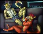 anthro bulge canine clothing feline foot_fetish foot_lick fox hindpaw jaggiekant leopard licking male male/male mammal open_mouth paws sofa spots toes tongue tongue_out underwear video_games  Rating: Questionable Score: 7 User: citrakayah Date: March 22, 2016
