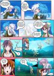 clothed clothing comic cowboy_hat dialogue english_text female flashback fluttershy_(mlp) flying friendship_is_magic gilda_(mlp) hair hat hug human humanized mammal mauroz my_little_pony rainbow_dash_(mlp) text wings   Rating: Safe  Score: 2  User: darknessRising  Date: March 19, 2014