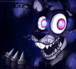 animatronic anthro blue_theme bonnie_(fnaf) five_nights_at_freddy's five_nights_at_freddy's_4 glowing glowing_eyes lagomorph machine mammal mechanical nightmare_bonnie_(fnaf) rabbit red_eyes robot solo teeth toy-bonnie video_games   Rating: Safe  Score: 7  User: zylorix  Date: May 08, 2015