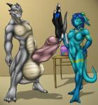2_toes balls big_balls canine cock_vore cum cum_covered digital_media_(artwork) dragon duo_focus excessive_cum female fur furred_dragon group huge_balls hybrid hyper hyper_balls hyper_penis male mammal messy penis razor231 scalie toes urethral vore wolf  Rating: Explicit Score: 12 User: maxine_red Date: June 14, 2015