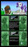 comic english_text equine female feral friendship_is_magic horn horse human impalement konami madmax male mammal metal_gear my_little_pony otacon parody pony rarity_(mlp) solid_snake text unicorn video_games  Rating: Safe Score: 1 User: Princess_Celestia Date: June 25, 2011