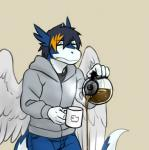 annoying_dog_(undertale) anthro beverage clei coffee cup dragon male nameless00 solo tired undertale video_games windragonRating: SafeScore: 3User: smat_dragonDate: August 15, 2018