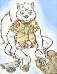 abstract_background anthro arctic_fox boy_scouts bulge canine clothed clothing cub digital_media_(artwork) fox fur hi_res lavilovi looking_at_viewer male mammal scout_uniform simple_background smile underwear uniform white_fur young  Rating: Questionable Score: 6 User: lavilovi Date: March 26, 2016