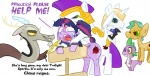 2011 all_fours armor blood bound broken_horn crying cub cum cutie_mark dialogue discord_(mlp) doggystyle draconequus dragon english_text equine feathered_wings feathers female feral feral_on_feral forced friendship_is_magic from_behind fur group helmet horn hypnosis imminent_rape male male/female mammal mind_control my_little_pony open_mouth pegasus prince_blueblood_(mlp) public_use purple_fur rape royal_guard_(mlp) scalie sex simple_background snails_(mlp) spike_(mlp) stocks tears text the_weaver tongue toony twilight_sparkle_(mlp) unicorn white_background wings young  Rating: Explicit Score: -1 User: Ultrastoneman Date: September 24, 2011